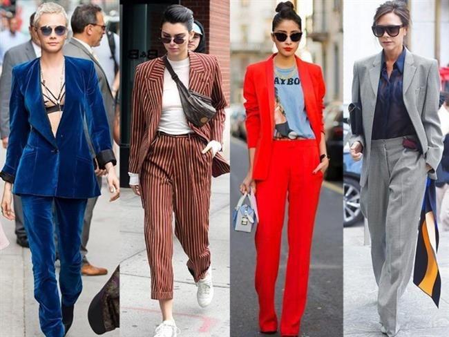 Yeni sezon kadın takım elbise modelleri! 2