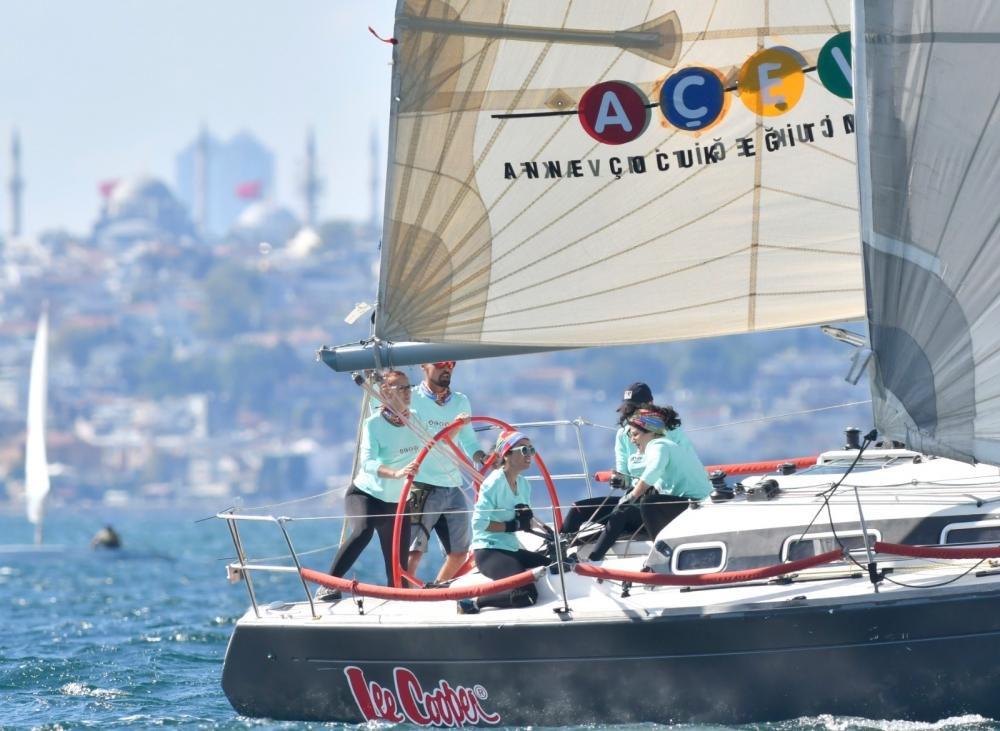 4. Deniz Kızı Ulusal Kadın Yelken Kupası'ndan Renkli Kareler 1