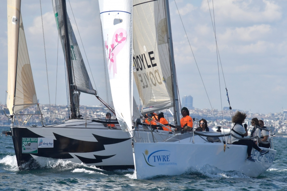 4. Deniz Kızı Ulusal Kadın Yelken Kupası'ndan Renkli Kareler 11