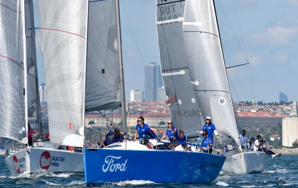 4. Deniz Kızı Ulusal Kadın Yelken Kupası'ndan Renkli Kareler 12