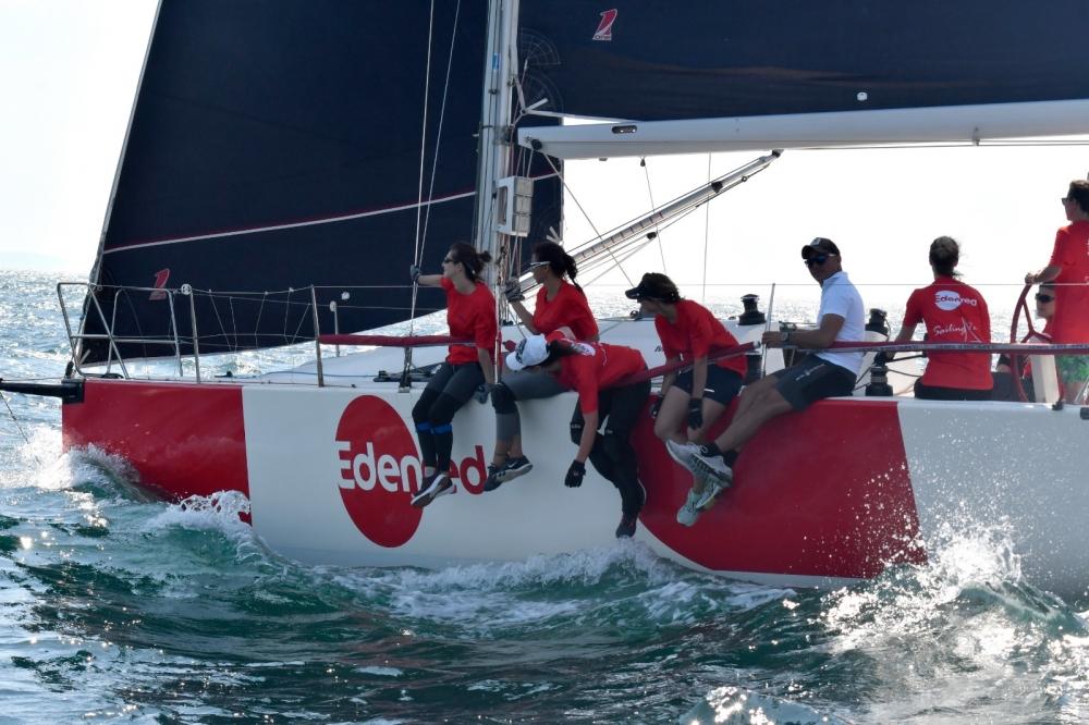 4. Deniz Kızı Ulusal Kadın Yelken Kupası'ndan Renkli Kareler 14