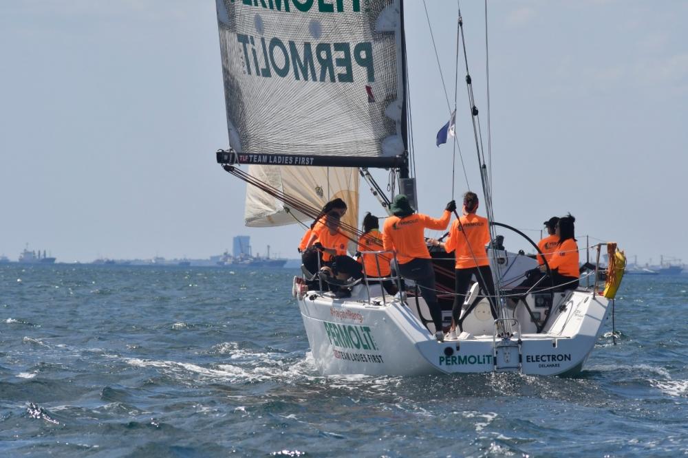 4. Deniz Kızı Ulusal Kadın Yelken Kupası'ndan Renkli Kareler 17