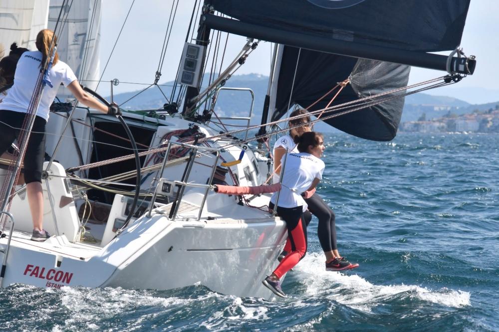 4. Deniz Kızı Ulusal Kadın Yelken Kupası'ndan Renkli Kareler 21