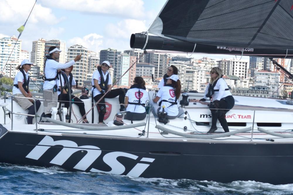 4. Deniz Kızı Ulusal Kadın Yelken Kupası'ndan Renkli Kareler 3