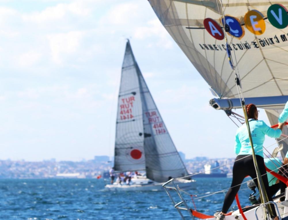 4. Deniz Kızı Ulusal Kadın Yelken Kupası'ndan Renkli Kareler 5