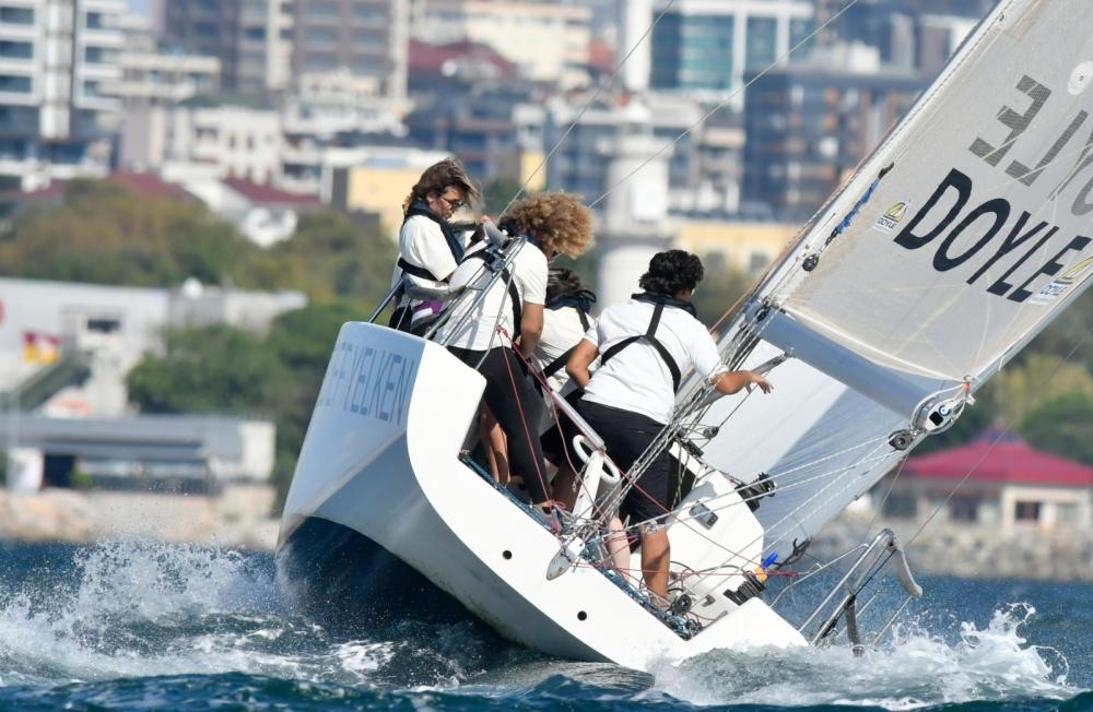 4. Deniz Kızı Ulusal Kadın Yelken Kupası'ndan Renkli Kareler 6