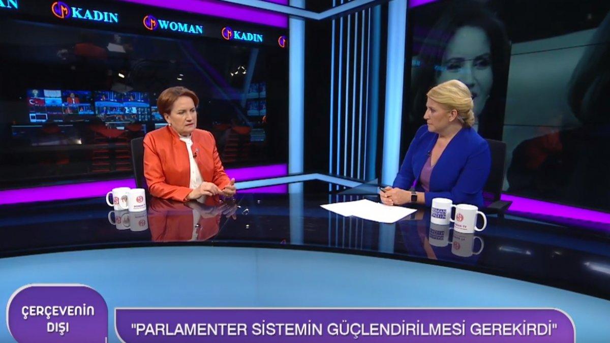 Meral Akşener Woman TV'de daha önce sorulmayan soruları yanıtladı