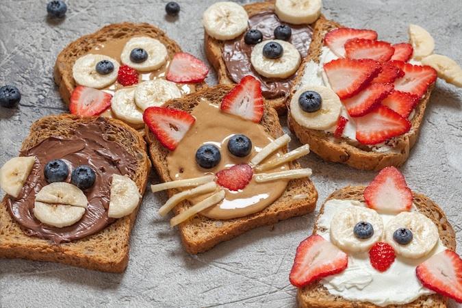 Çocuklar için Besleyici ve Eğlenceli Kahvaltı!