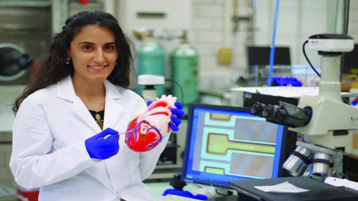 Dr. Canan Dağdeviren Meme Kanserini Teşhis Eden Sütyen Geliştirdi
