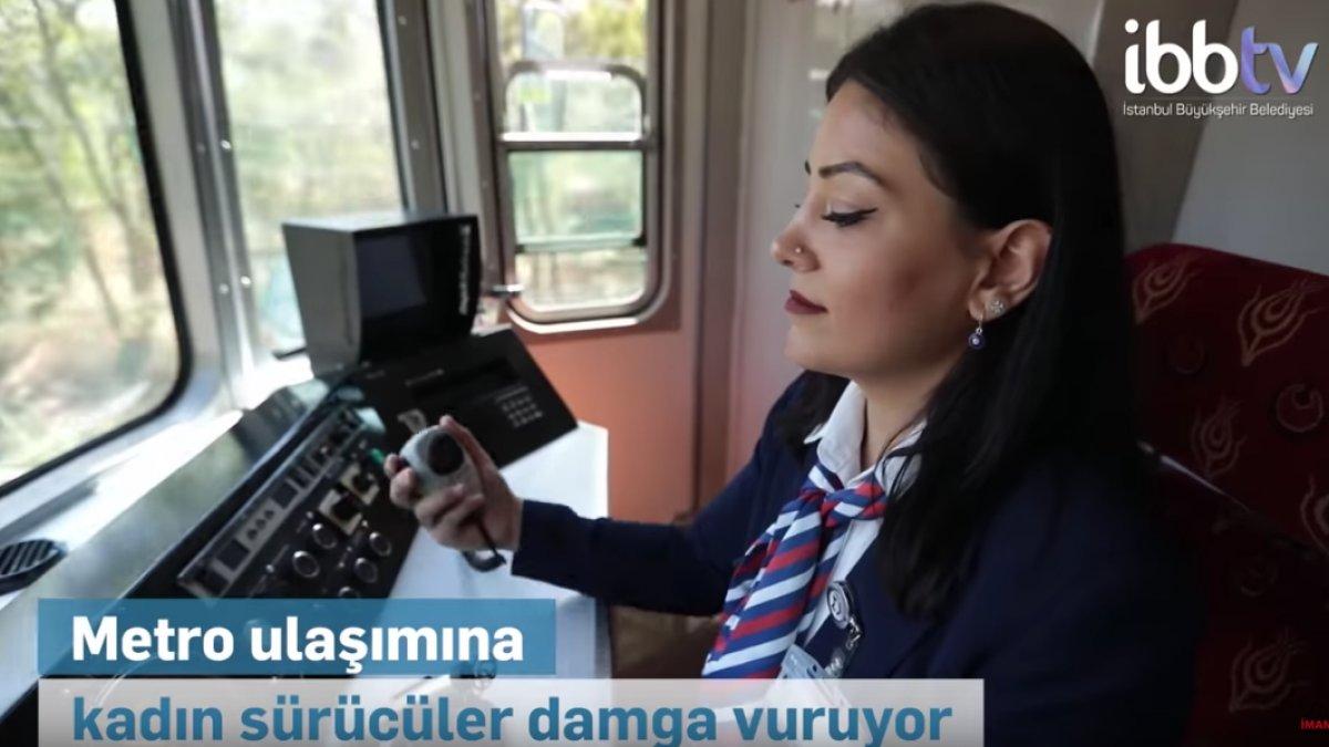 Metro Ulaşımına Kadın Sürücüler Damga Vuruyor