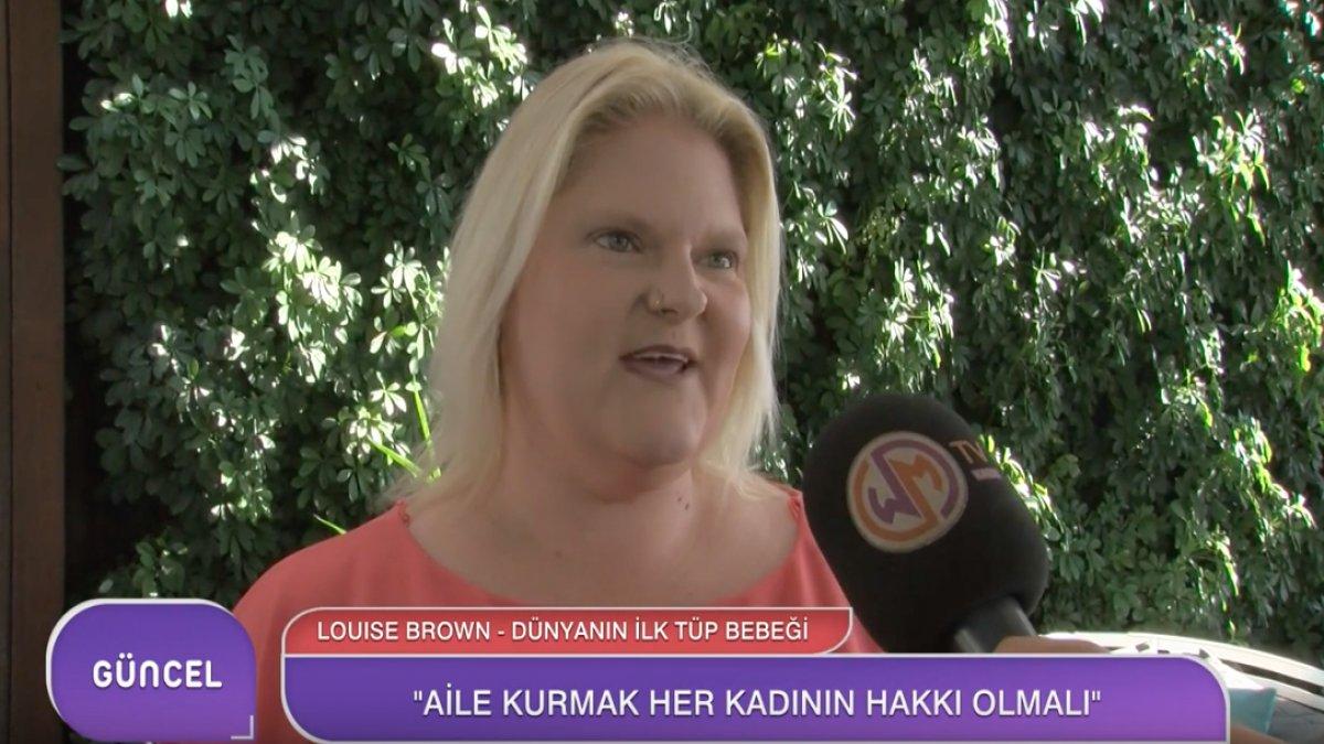 Dünyanın İlk Tüp Bebeği Louise Brown Türkiye'deydi