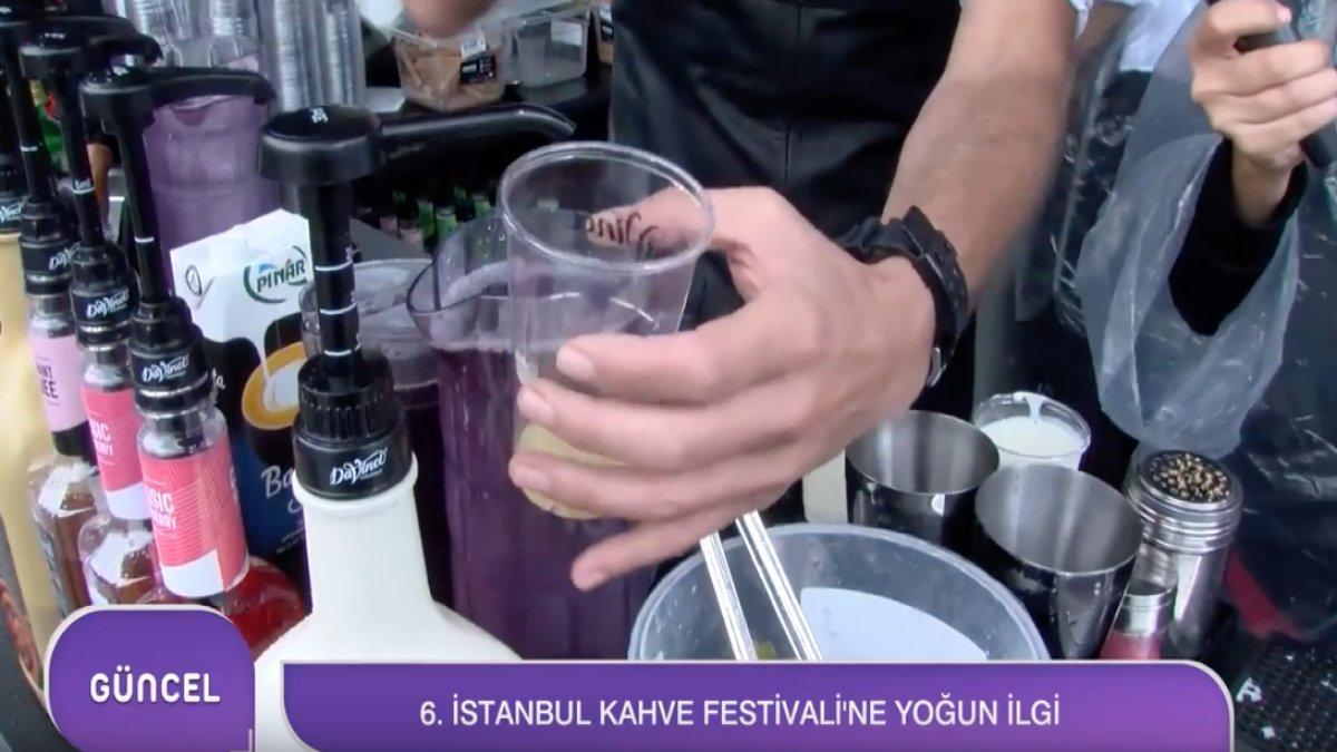 6.İstanbul Kahve Festivali'ne Yoğun İlgi