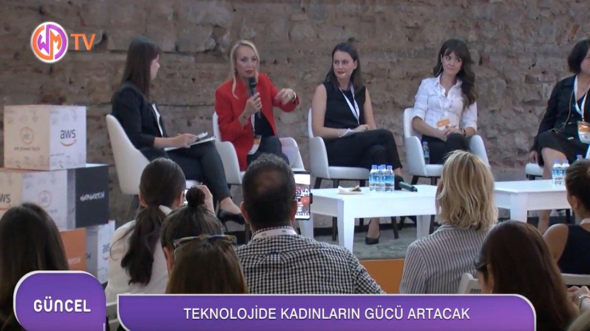 AWS LOFT ISTANBUL Teknolojide Kadınların Gücü Artacak