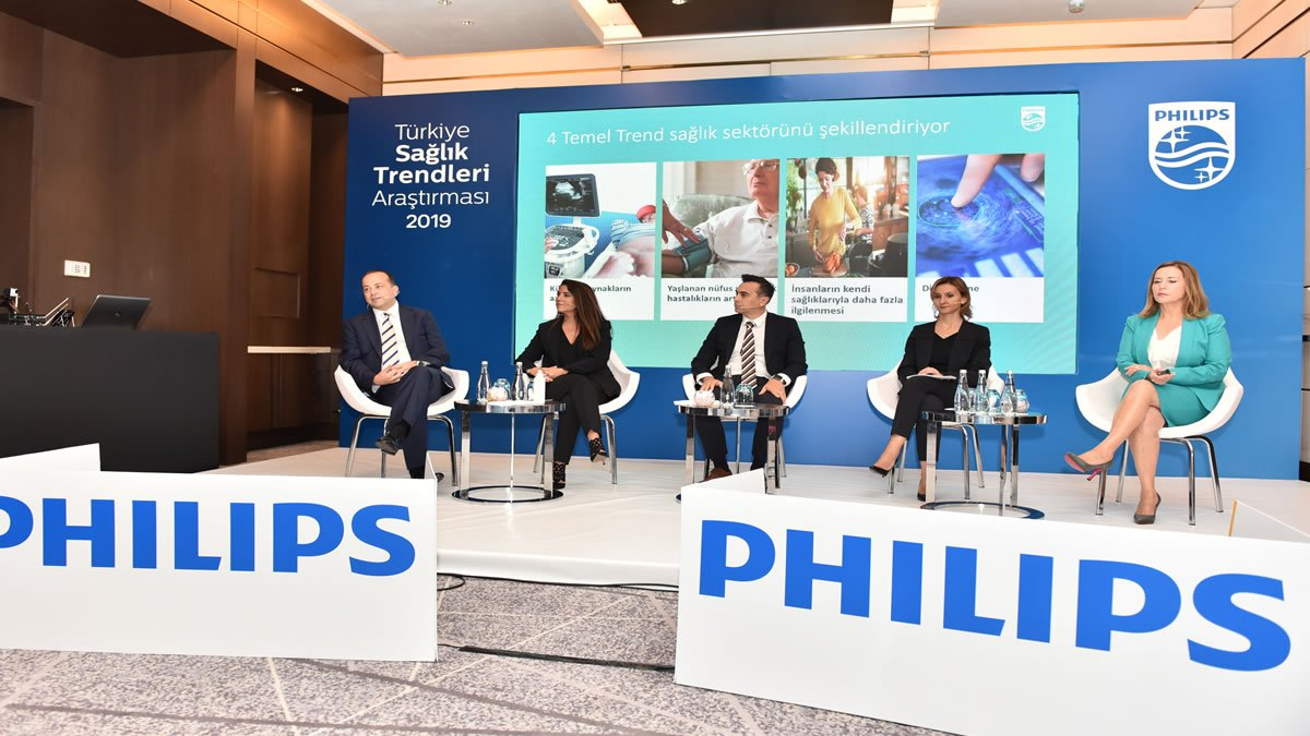 Philips, 'Sağlık Trendleri Araştırması' ile Türkiye'nin Sağlık Nabzını Ölçtü