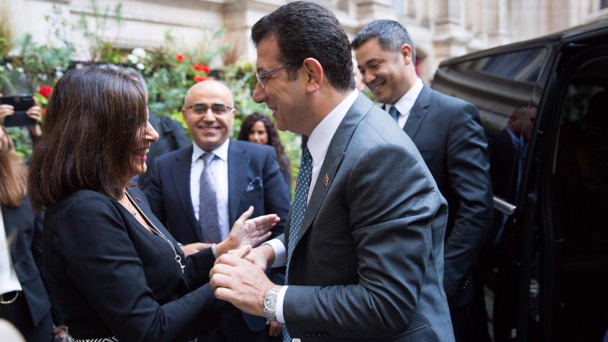 Paris Belediye Başkanı Hidalgo'dan İmamoğlu'na Türkçe Karşılama