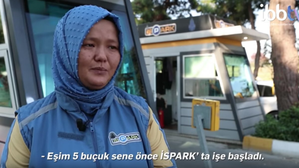 İSPARK'ta Kadınlar Çalışmaya Başladı