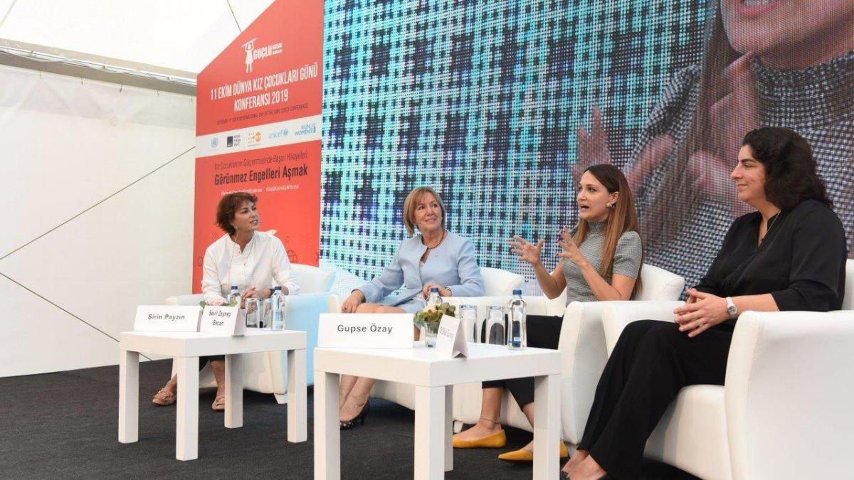 """5. Dünya Kız Çocukları Günü Konferansı: """"Görünmez Engeller""""in Görünür Kahramanları"""
