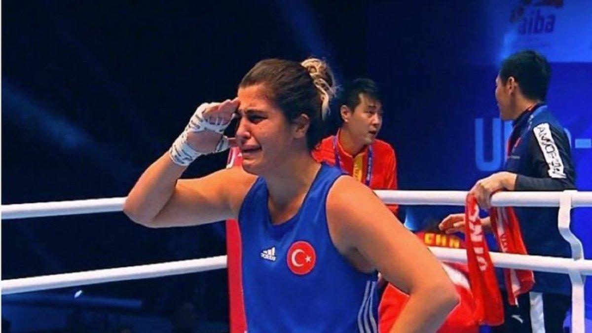 Dünya Kadınlar Boks Şampiyonası'nda Podyumlar Millilerin