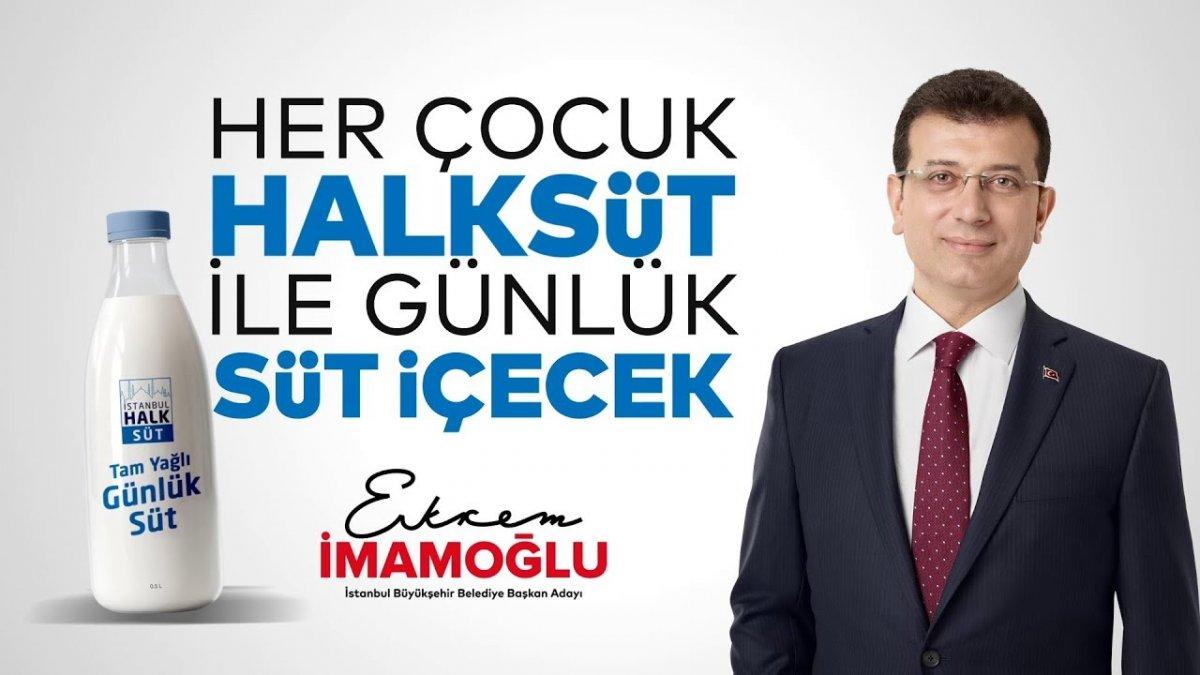 """Başkan İmamoğlu'nun """"Halk Süt"""" Vaadi Gerçekleşiyor"""