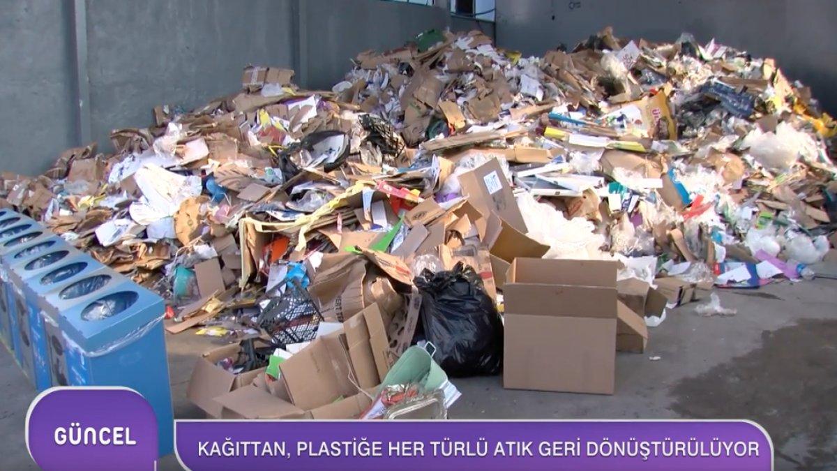 Kağıttan Plastiğe Her Türlü Atık Geri Dönüştürülüyor