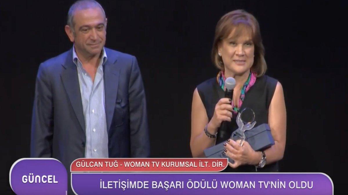 İletişimde Başarı Ödülü Woman TV'nin Oldu