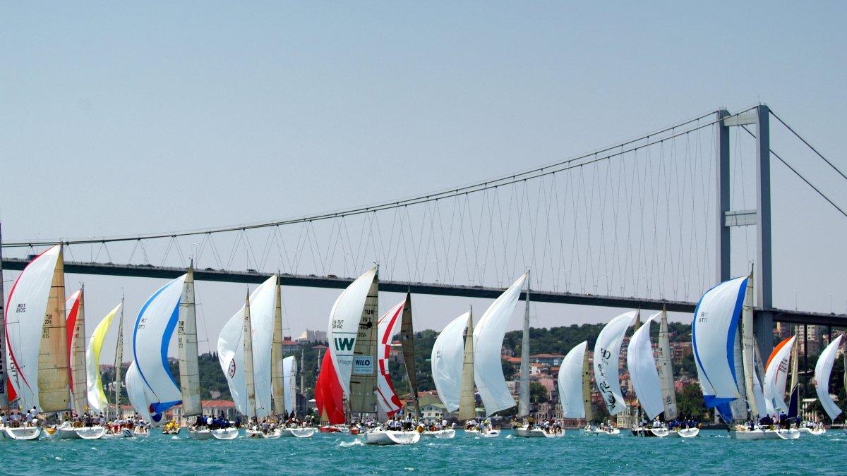 İstanbul Boğazı En Kalabalık Yelken Yarışına Ev Sahipliği Yapacak