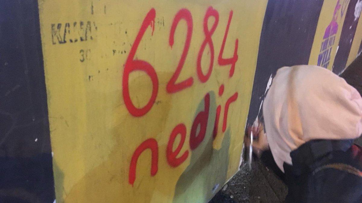 Kadıköy Belediyesi'nin Kadın Çalışanları '6284' İçin Sokağa Çıktı
