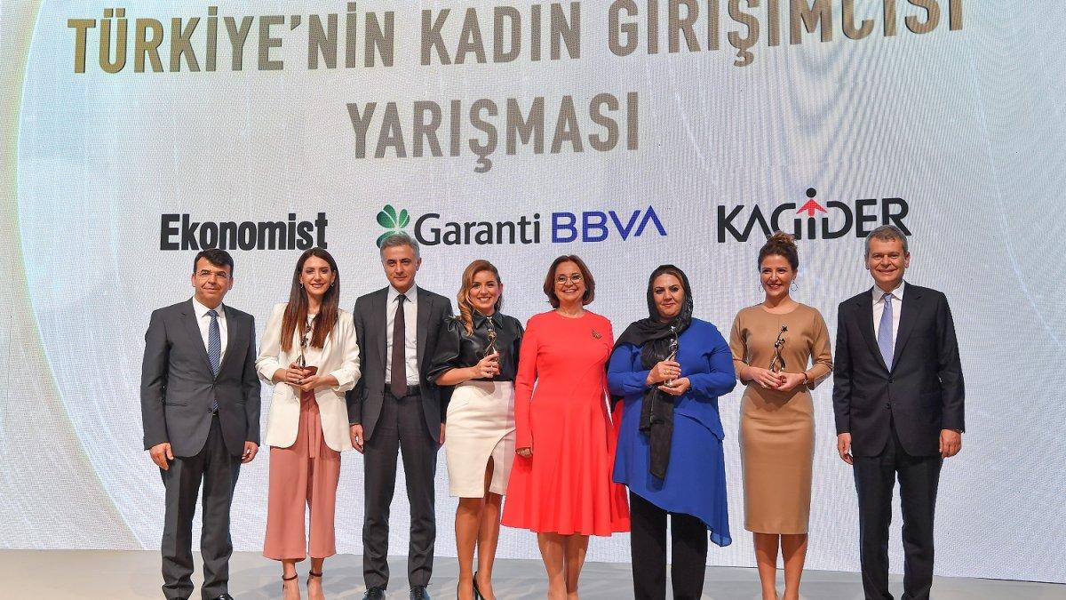 Türkiye'nin Kadın Girişimcisi Yarışması'nın Kazananları Ödüllerini Aldı