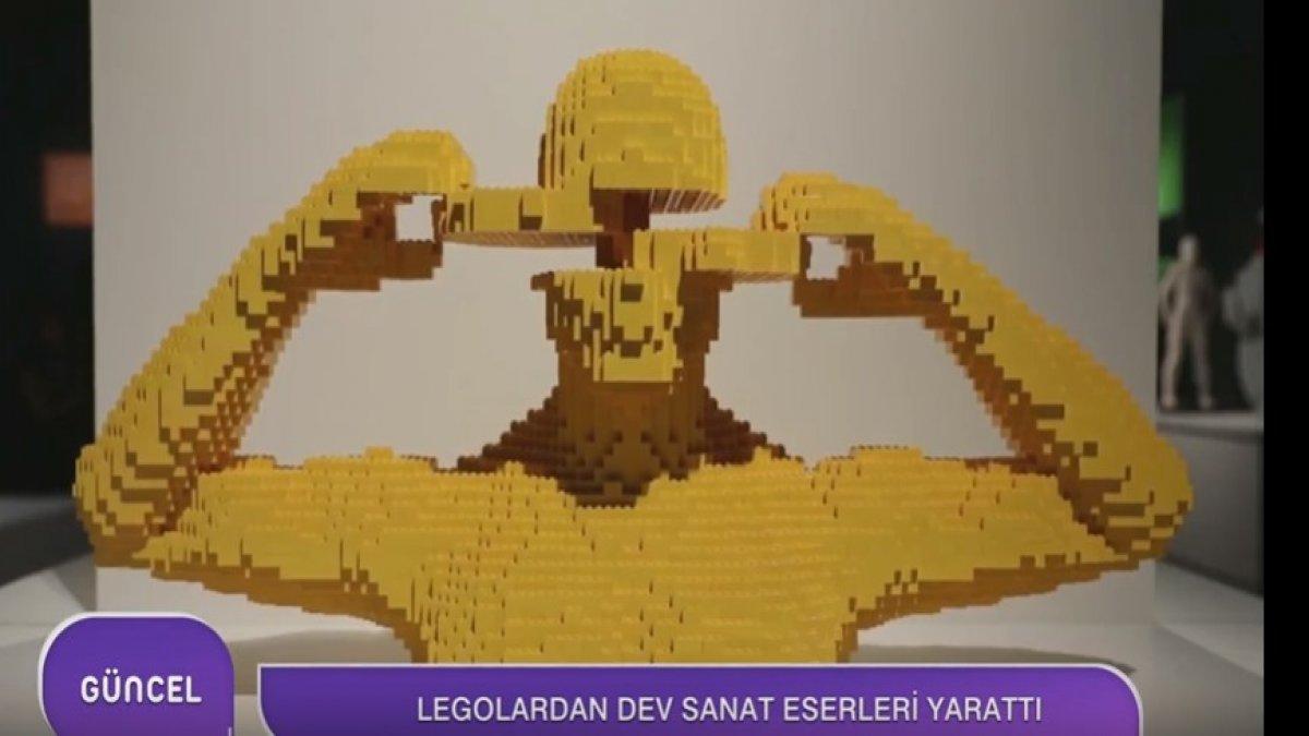 Legolarla Sanatı Uçurdu