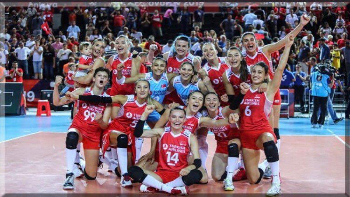 Voleybol Kadın Milli Takımımız Olimpiyat Yolcusu