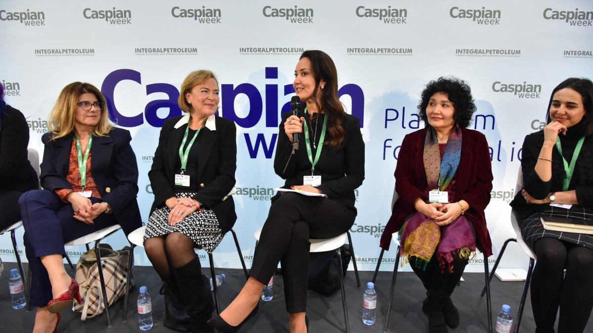 WEF'da Kadın Liderler Oturumunda Türkiye'yi Adviye Bergemann Temsil Etti