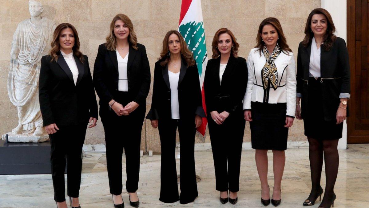 Lübnan Hükümeti tarih yazdı: 6 Kadın Kabinede