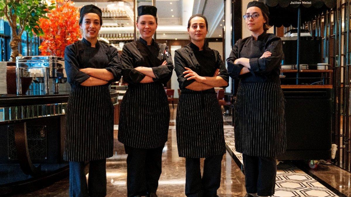 Hilton İstanbul Bomonti'nin Üreten Kadın Şeflerinden  Dünya Kadınlar Günü'ne Özel Menü