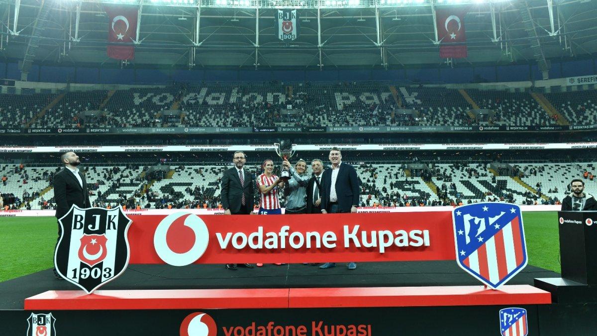 Vodafone Kupası tarihe geçti