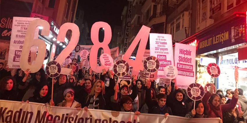 Kadın örgütlerinden kritik uyarı: Karantinada 6284 yaşatır