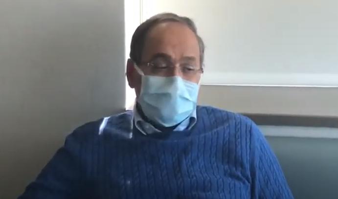 Hastasından Covid-19 kapan doktor: Yüzde 50 şansım var dedim