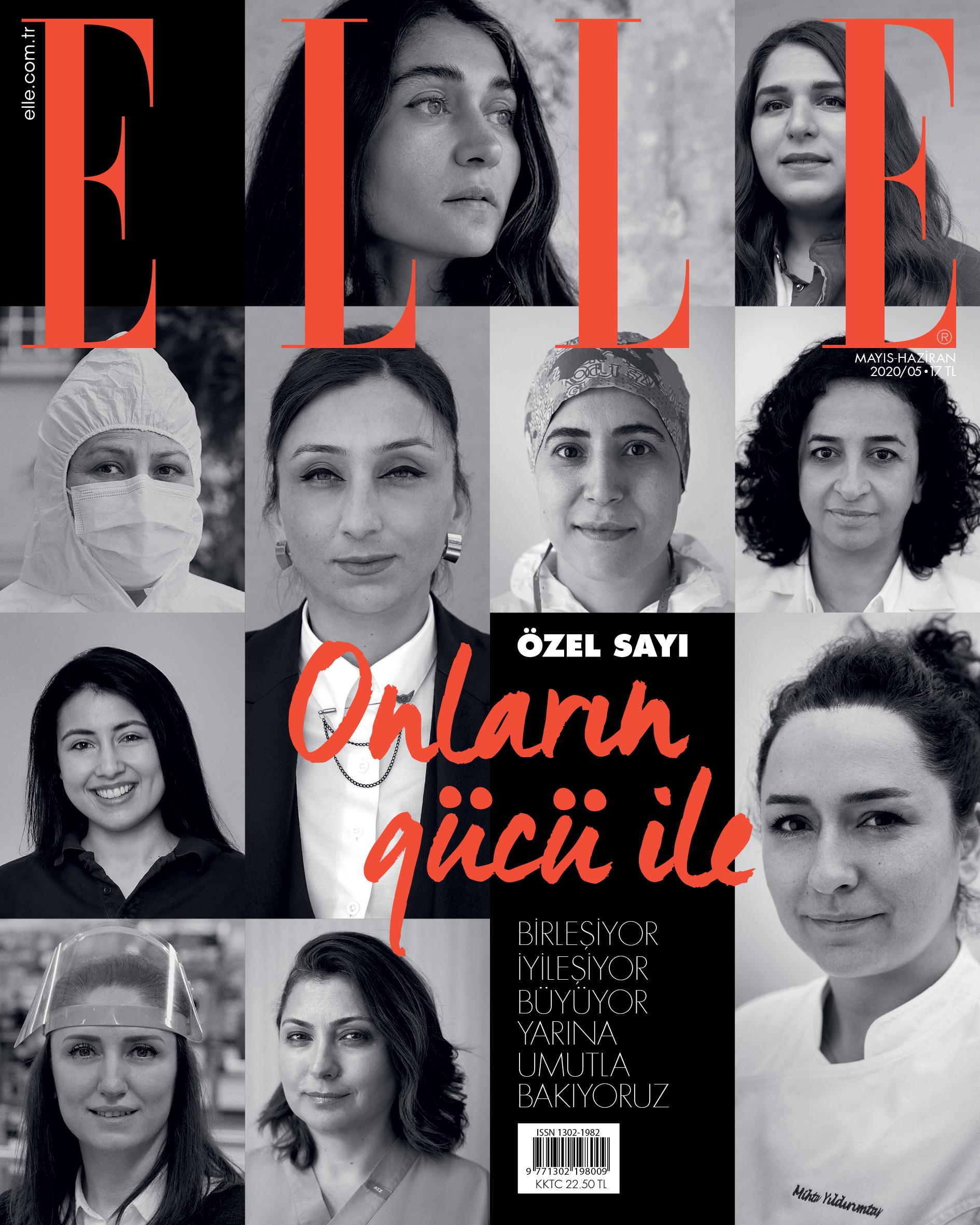 Elle Türkiye'den Devrim Gibi Kapak: Onların Gücü ile