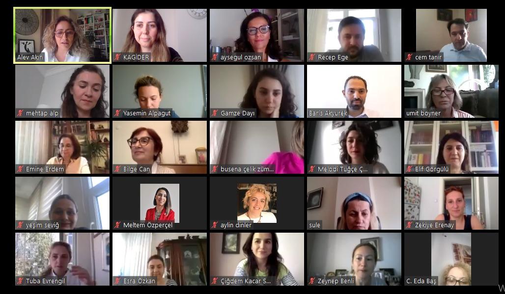 """Kadın girişimcilerin pandemi deneyimleri: """"İyi İşler"""" video konferansta buluştu!"""