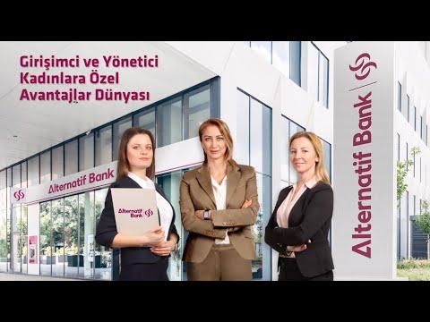 Alternatif Bank'tan Yöneten Kadına Güç Katan Paket