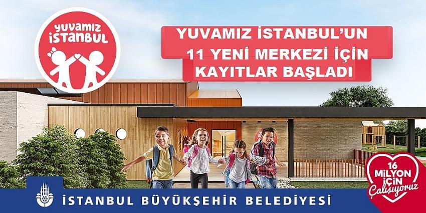 İBB, Yuvamız İstanbul'un 11 yeni merkezi için kayıtlara başladı!