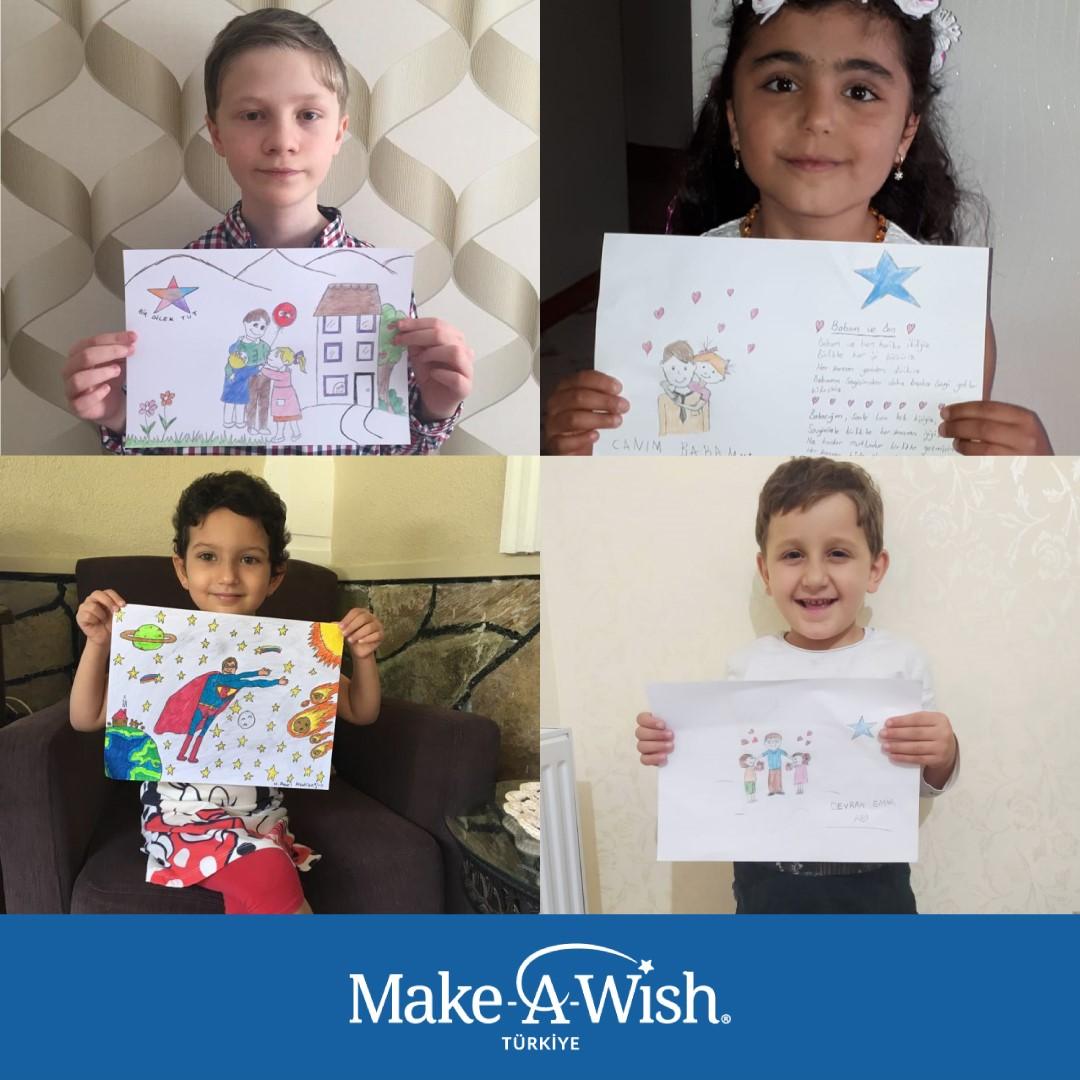 Zorlu hastalıklarla mücadele eden çocuklar için bir araya geliyorlar!