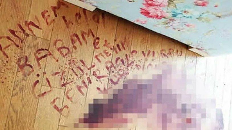 Suçluyu kendi kanıyla yere yazmıştı… Beni kurtarın, yarım işini tamamlamasın