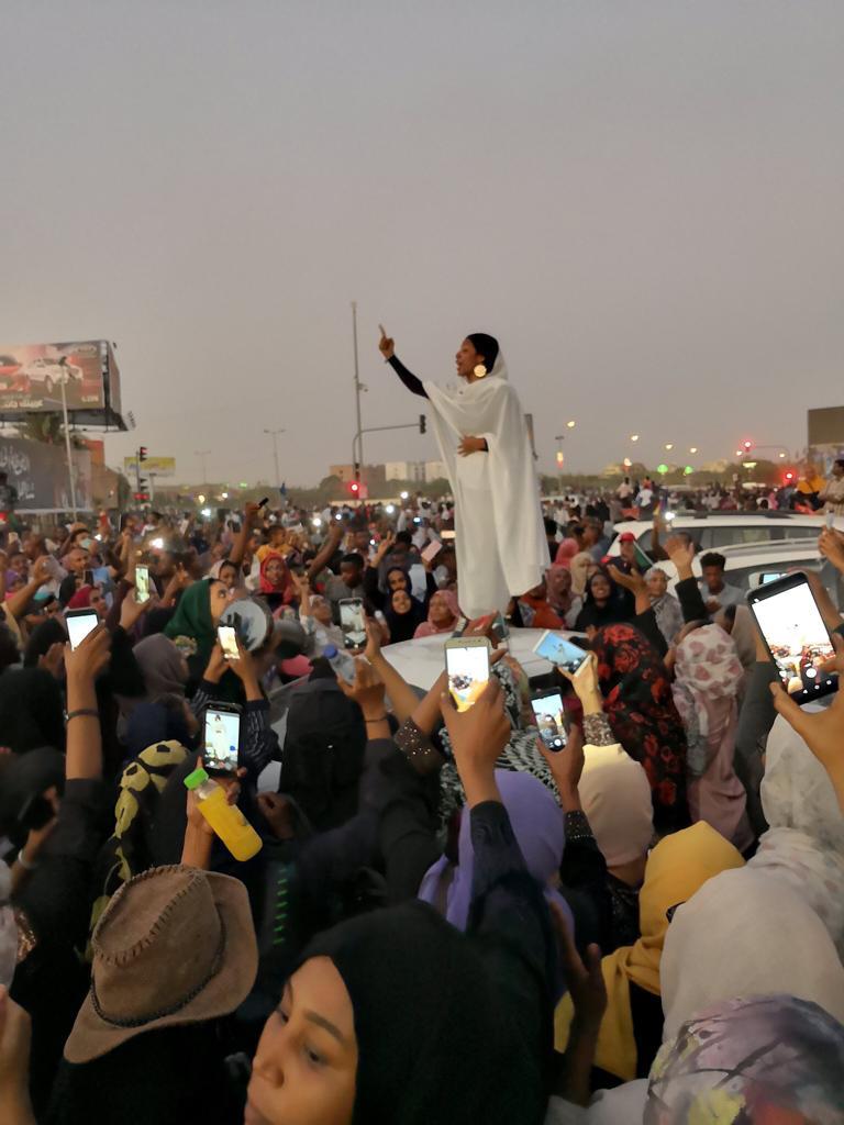 Sudan'da kadınların zaferi!