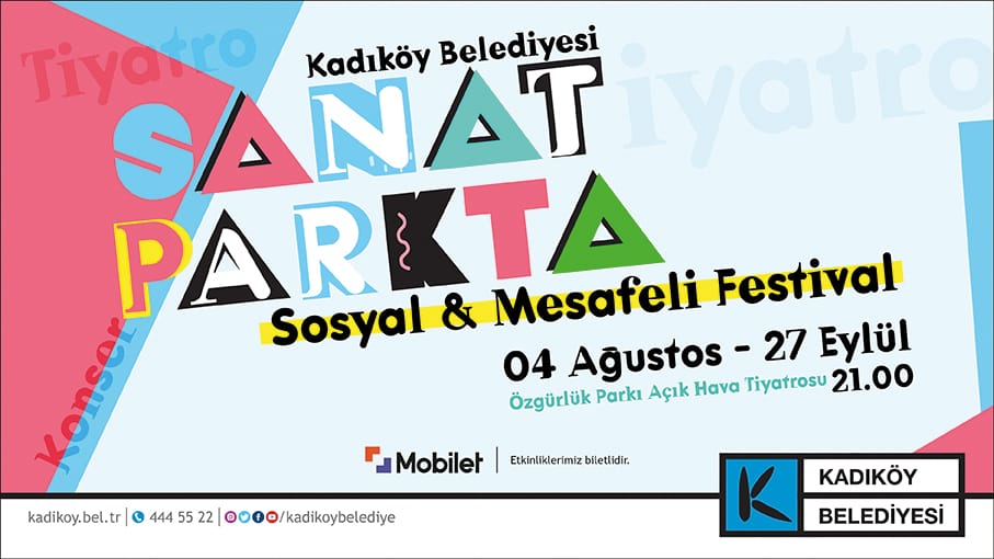 """Kadıköy'de """"Sosyal ve Mesafeli"""" Festival!"""