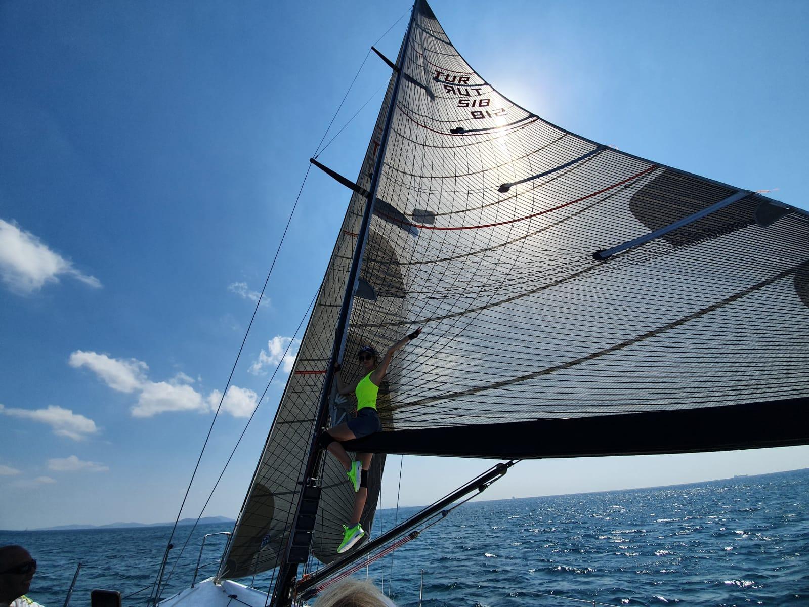 5. Deniz Kızı Kadın Yelken Kupası için antremanlar sürüyor