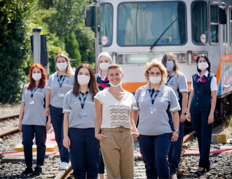 İstanbul Metrolarının kadın makinistleri etkileyici hikayelerini anlattı
