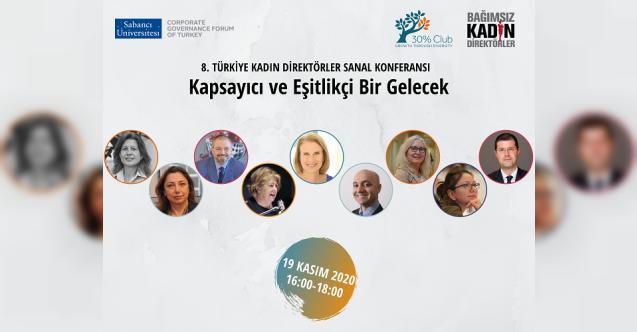 8. Türkiye Kadın Direktörler Konferansı 19 Kasım'da!