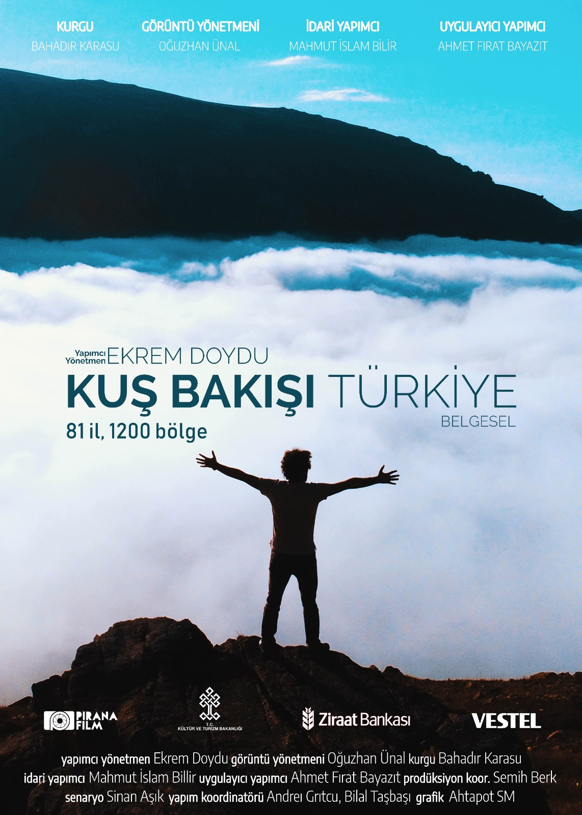 Kuş Bakışı Türkiye'nin sırrı sayılarda gizli