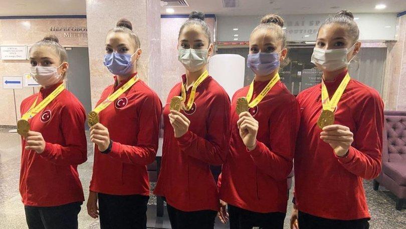 Kadın Ritmik Cimnastik Grup Milli Takımımız, Avrupa şampiyonu oldu