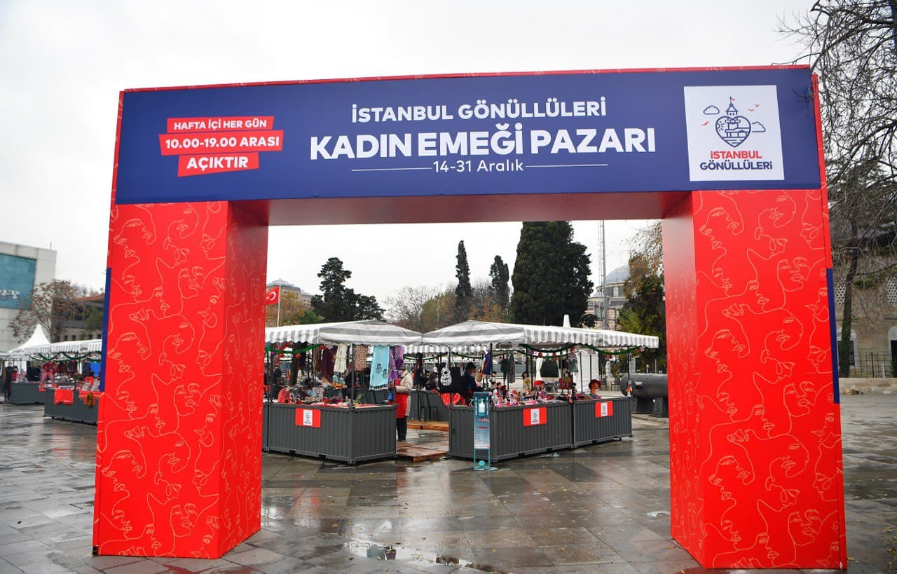 İstanbul Gönüllüleri'nden Kadın Girişimcilere Destek: Kadın Emeği Pazarı